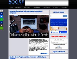 boorp.com screenshot