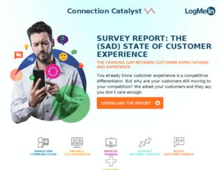 boost-customer-service.connectioncatalyst.in screenshot
