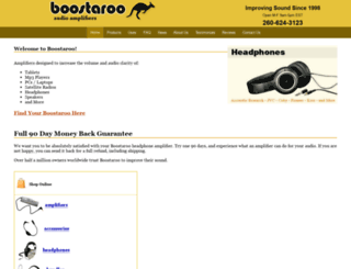 boostaroo.com screenshot