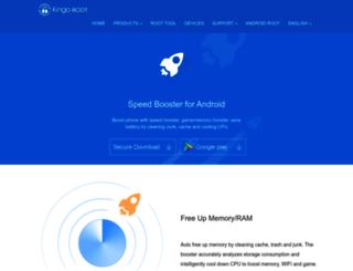 booster.kingoapp.com screenshot