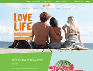 boostjuicebars.com.au screenshot