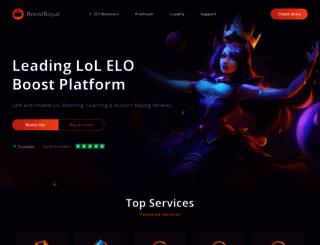 boostroyal.co.uk screenshot