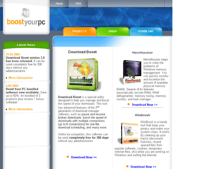 boostyourpc.com screenshot