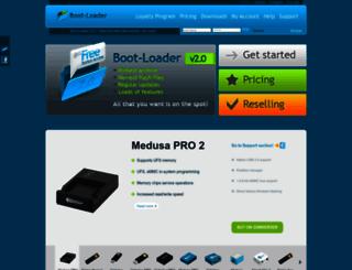boot-loader.com screenshot