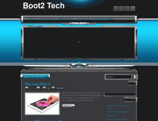 boot2tech.blogspot.com screenshot