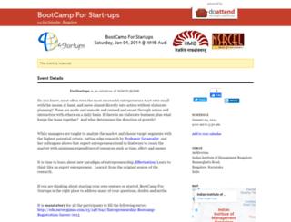bootcamp.doattend.com screenshot