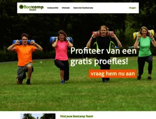 bootcampteam.com screenshot