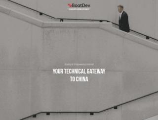 bootdev.com screenshot