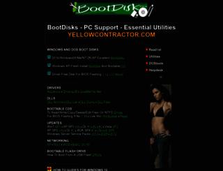 bootdisk.com screenshot