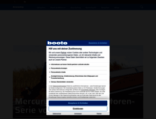boote-magazin.de screenshot