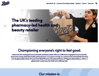 boots-uk.com screenshot
