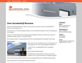 bootsmablauwhuis.nl screenshot