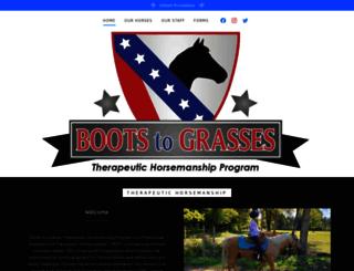 bootstograsses.org screenshot