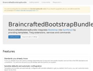 bootstrap.braincrafted.com screenshot