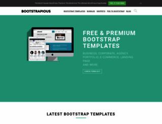 bootstrapious.com screenshot