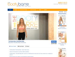 bootybarre.intelivideo.com screenshot