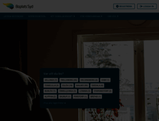 boplatssyd.se screenshot