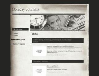 boracayjournals.webs.com screenshot