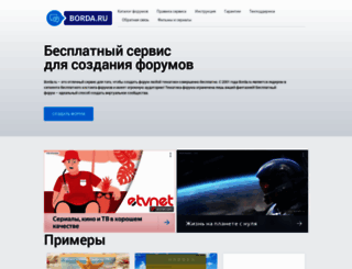 borda.ru screenshot
