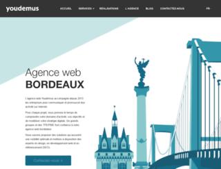 bordeaux-creation-site-web.fr screenshot