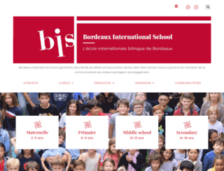 bordeaux-school.com screenshot