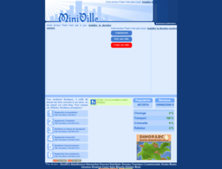 bordeaux.miniville.fr screenshot