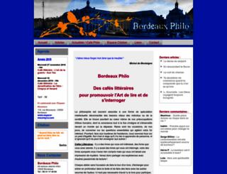 bordeaux.philo.free.fr screenshot