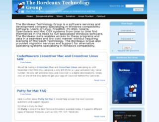 bordeauxgroup.com screenshot