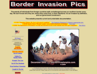 borderinvasionpics.com screenshot