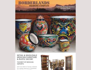 borderlandstrading.com screenshot