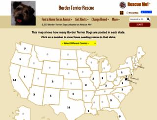borderterrier.rescueme.org screenshot