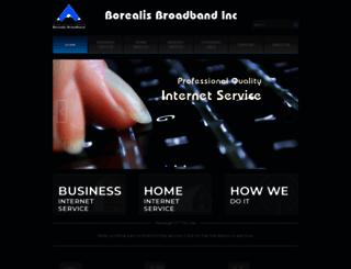 borealisbroadband.net screenshot