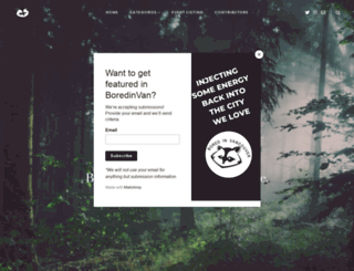 boredinvancouver.com screenshot