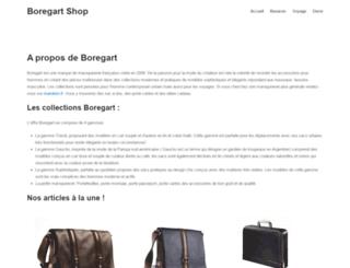 boregart-shop.com screenshot