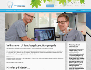 borgertand.dk screenshot