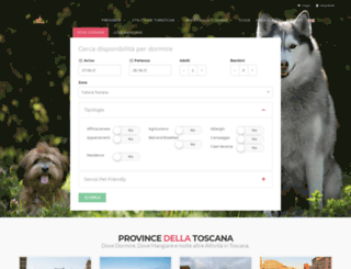 borghitoscani.com screenshot