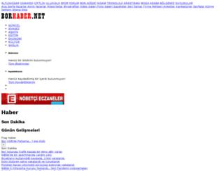 borhaber.net screenshot