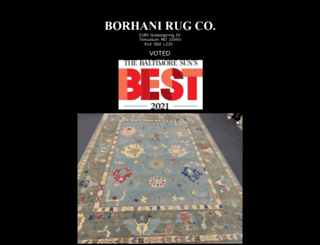 borhanirugs.com screenshot
