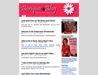 boriquablog.wordpress.com screenshot