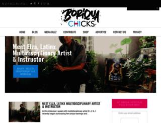 boriquachicks.com screenshot