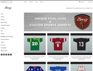 borizjerseys.com screenshot