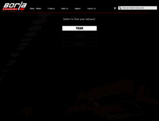 borla.com screenshot