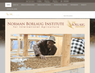 borlaug.tamu.edu screenshot