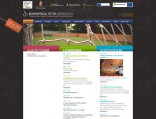 bornemisza.hu screenshot