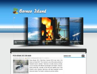 borneo-tourism.blogspot.com screenshot