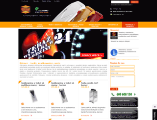 borner-tarki.pl screenshot