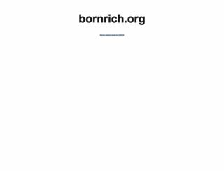 bornrich.org screenshot