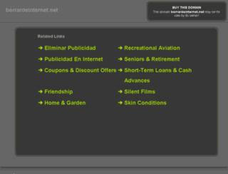 borrardeinternet.net screenshot