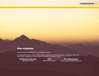 borsa.commerzbank.com screenshot