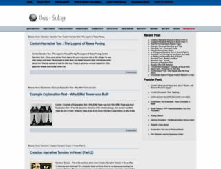 bos-sulap.blogspot.com screenshot